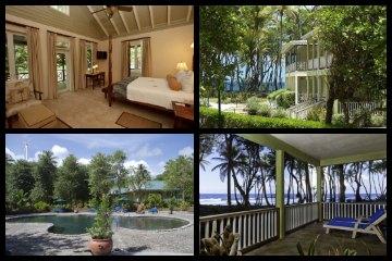 Rosalie Bay Resort in Dominica