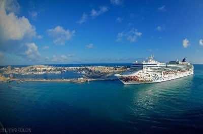 Royal Naval Dockyard in Bermuda