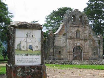 Ruinas de Ujarras in San Jose