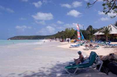 Runaway Beach in Antigua