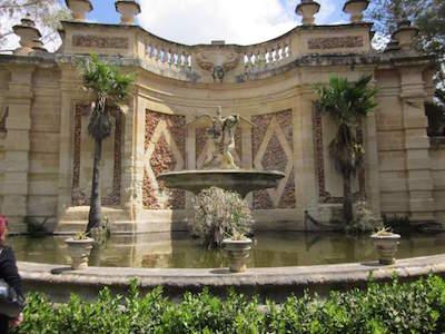 San Anton Gardens in Malta