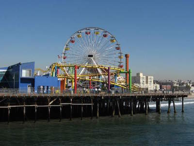 Santa Monica Pier Aquarium in Los Angeles