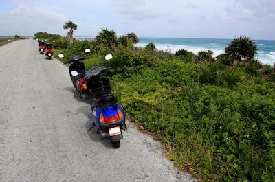 Scooter in Nassau