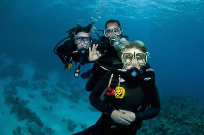 Scuba diving in St. Martin