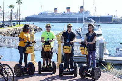 Segway tours in Long Beach