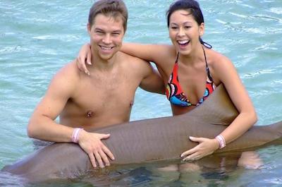 Sharks encounter in Ocho Rios