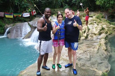 Montego Bay Shore Excursion: Blue Hole Falls Tour