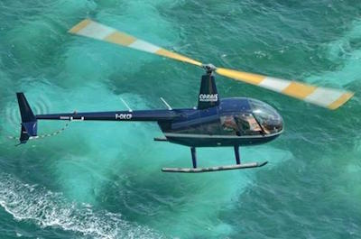 Island Sightseeing Tour by Helicopter
