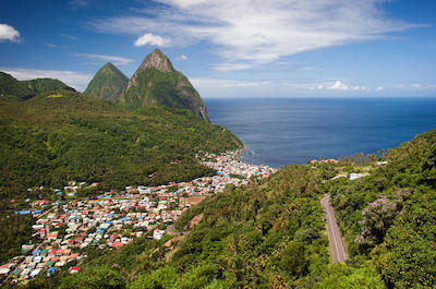 Sightseeing tours in St. Lucia