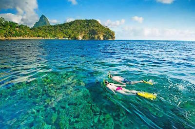 Snorkeling Tour in St. Lucia