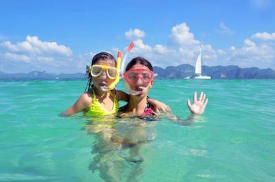 Snorkeling in St. Martin