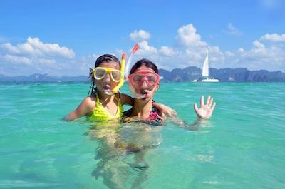 Snorkeling in St. Martin