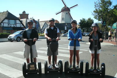 Solvang Segway Tour in Santa Barbara
