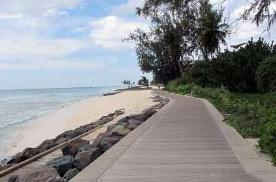 South Coast Boardwalk in Barbados