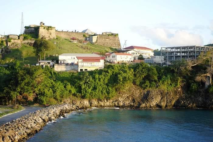 St. George's Fort in Grenada