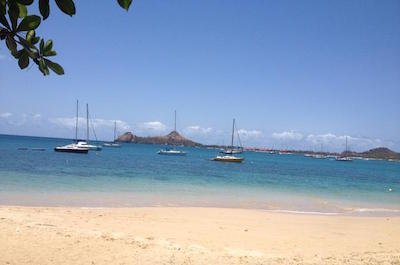St Lucia Shore Excursion: North Island Boat Tour and Reduit Beach Relaxation with Creole Lunch