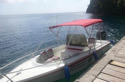 St Lucia Shore Excursion: Private Speedboat Soufriere Tour with Mud Bath and Beach Time