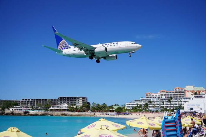 St. Maarten island in the Caribbean