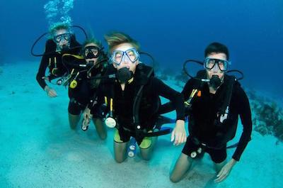 >Scuba Diving in St. Maarten