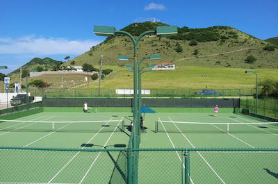 Tennis in St. Martin