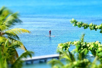 Stand Up Paddle Boarding in Puerto Vallarta