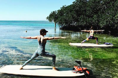 Stand Up Paddleboarding in Key West