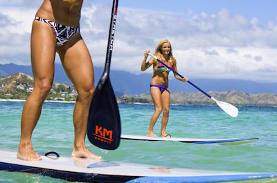 Stand Up Paddleboarding In Oahu