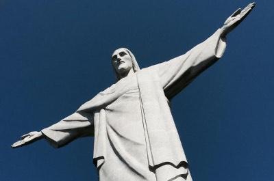 Statue of Christ the Redeemer in Rio de Janeiro