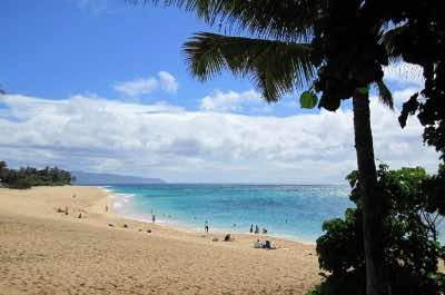 Sunset Beach Park in Oahu