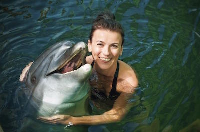 Swimming with Dolphins and Marine Life Encounter at Chankanaab Park in Cozumel
