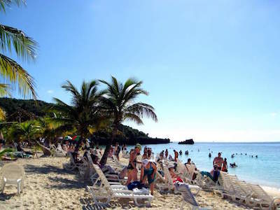 Tabyana Beach in Roatan