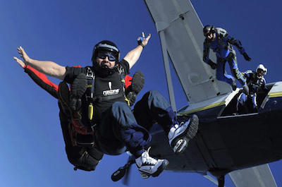 Tandem Skydiving in Miami