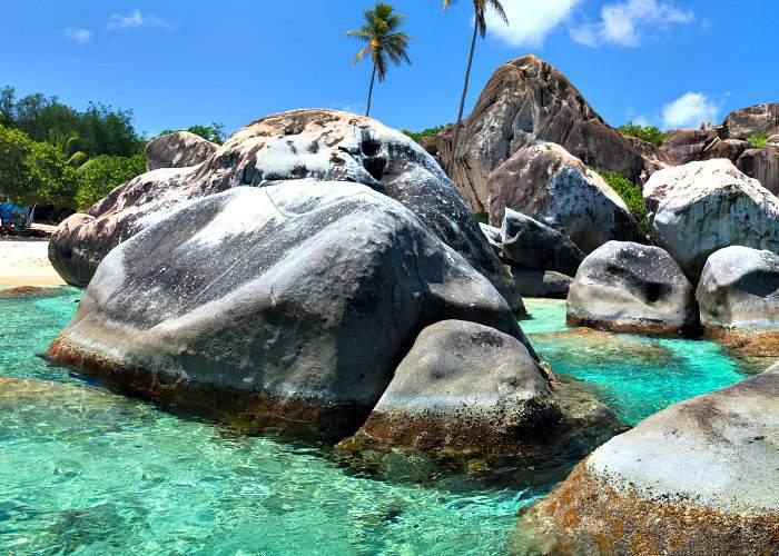 The Baths in Virgin Gorda, British Virgin Islands