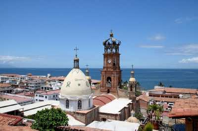 The Church of Our Lady of Guadalupe in Puerto Vallarta