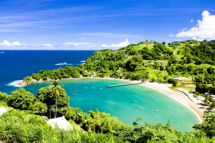 Tobago island in Trinidad and Tobago