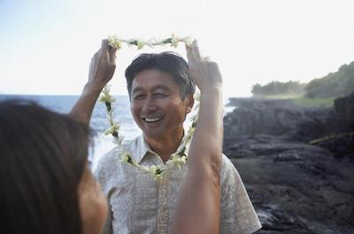 Traditional Lei Greeting on O'ahu