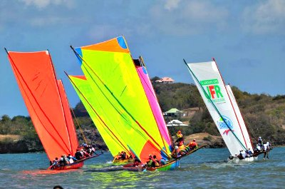 Traditional Yole Boat Sailing Tour in Martinique