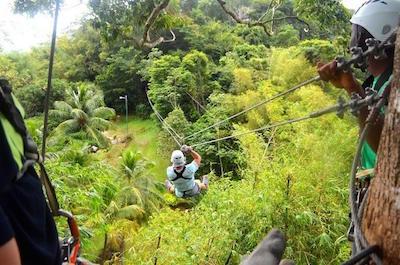 Ziplines in Trinidad