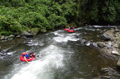 Tubing in Arenal