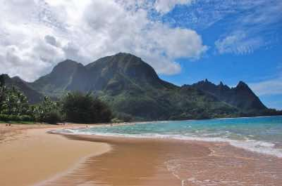Tunnels Beach in Kauai