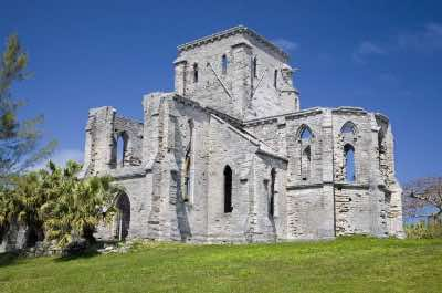 Unfinished Cathedral in Bermuda