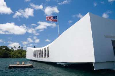 USS Arizona Memorial in Oahu