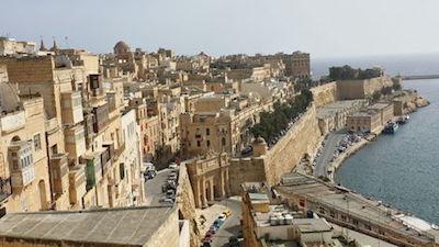 Valletta Waterfront in Malta