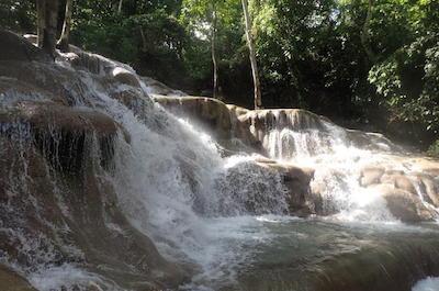 Visit Dunn's river falls in Montego Bay