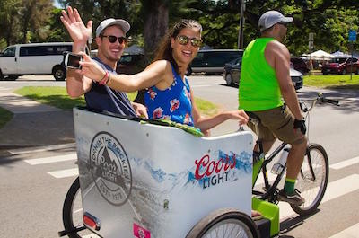 Waikiki Historic Sites and Residences Pedicab Tour