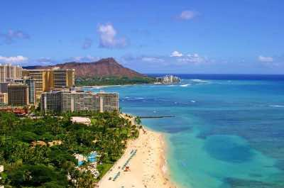 Waikiki in Honolulu