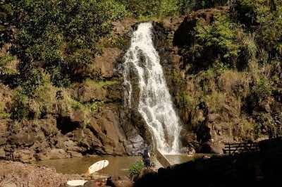 Waimea Falls Park in Oahu