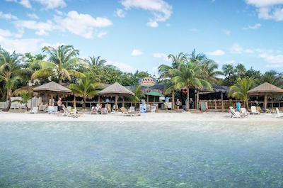 West Bay Beach in Roatan