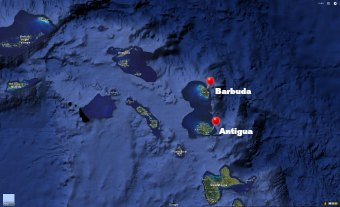 Where is Antigua on the map