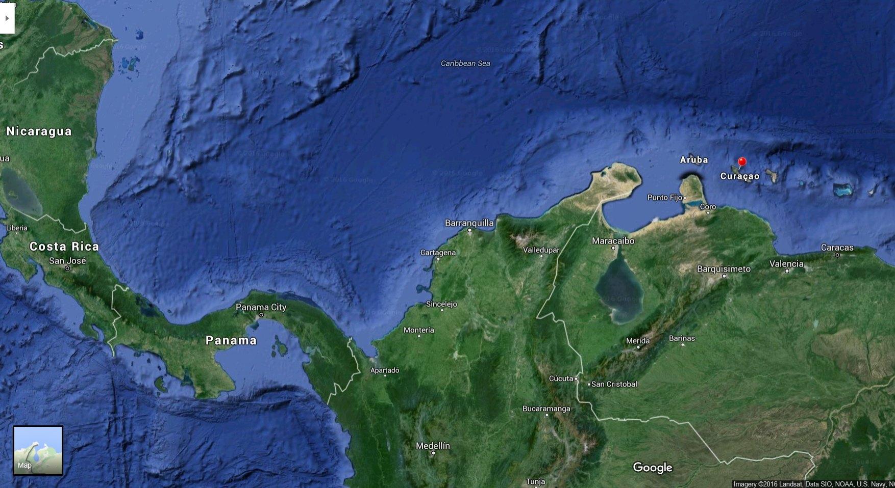 Where is Curacao?